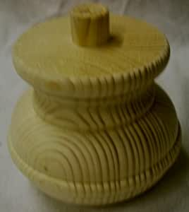 Pie para mueble (abeto, ancho 110 mm x alto 90 mm), n.º 1021V