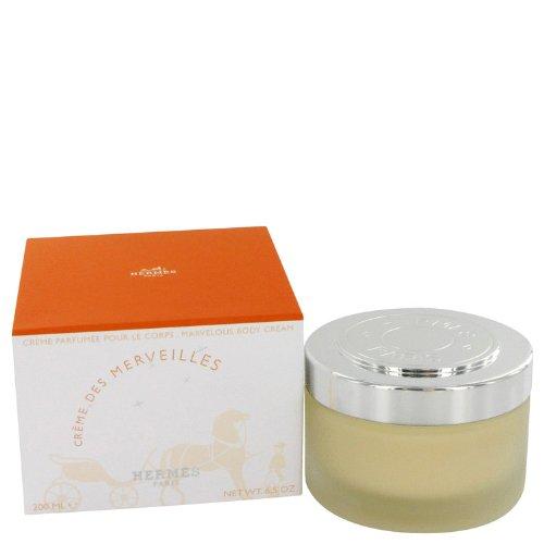 Eau De Merveilles by Hermes Body Cream 6.7 oz - Hermes Body Cream