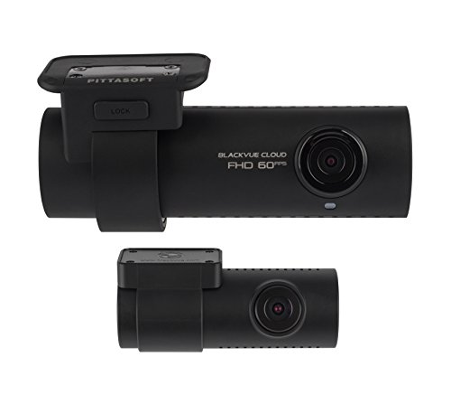 BlackVue DR750S-2CH (16GB) Front & Rear Cloud Connected Wi-Fi Dash Cam with Wide-Angle Full HD Video at 60Fps/30Fps, Sony Starvis Night Vision, Parking mode, GPS and iOS/Android App