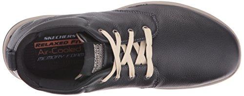 Skechers USA Uomo Harper Meldon Chukka Boot, Nero