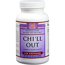 OHCO Chi'll Out 120 Capsules - Herbal Remedy for Relaxation - Get Relief from Anxiety, Stress, Sleep Apnea, and Sleeplessness Tension Headache - Calm and Stress Management Support