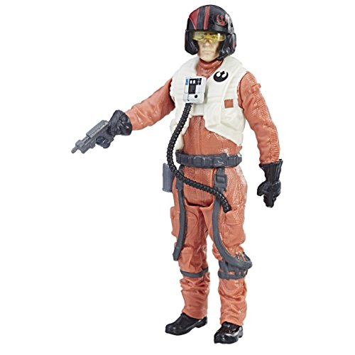 Star Wars: The Last Jedi Poe Dameron (Resistance Pilot) Force Link Figure 3.75 Inches