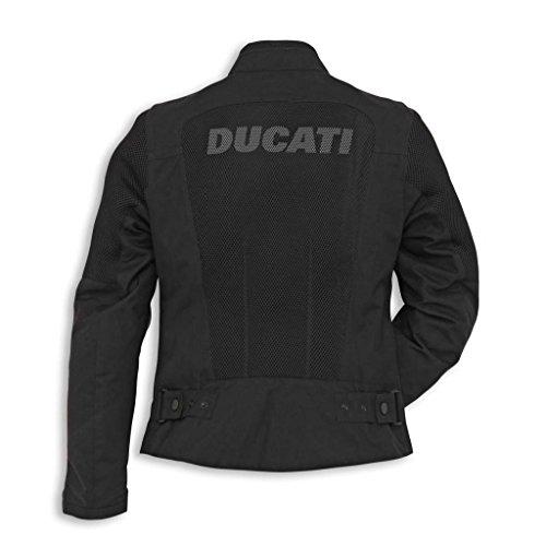 Ducati 981027966 Flow Women's Textile Mesh Riding Jacket - X-Large