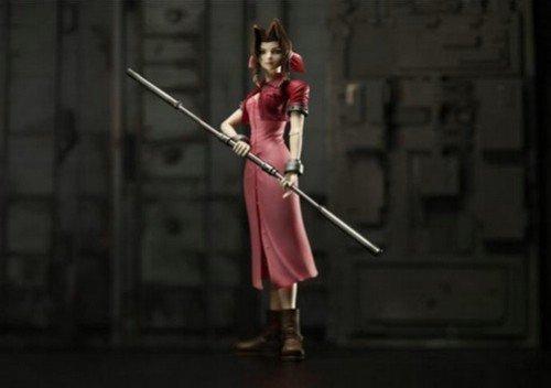 FINAL FANTASY VII PLAY ARTS エアリス・ゲインズブール(PVC塗装済みアクションフィギュア)の商品画像
