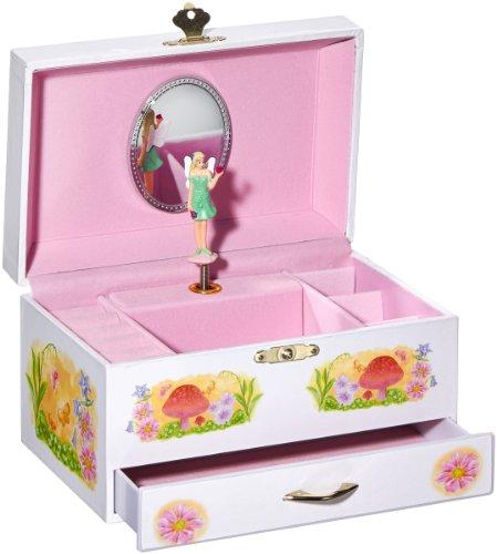 Spieluhrenwelt Kinder-Schmuckdose Elfe Spielt die Melodie 'Well Known Melody' (Waltz of the Flowers) 22048
