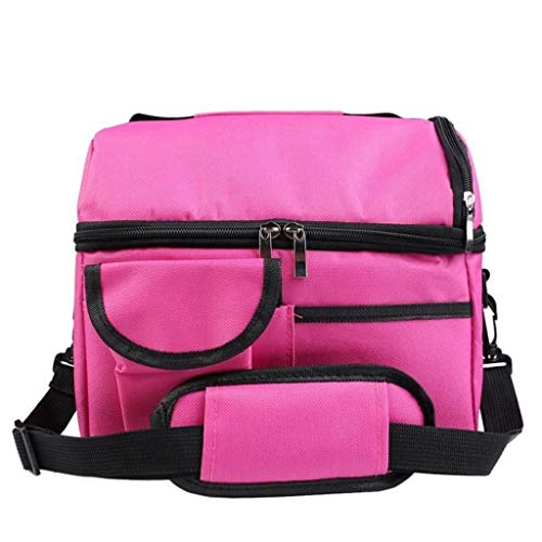 (CreazriseLarge Ice Pack Double Insulated Bag Breast Milk Storage Bag Bento Bag)