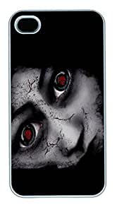 IPhone 4S Cases Hell Spawns Evil Eye HAC1014302 Polycarbonate Hard Case Back Cover for iPhone 4/4S White