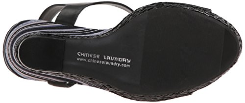 Burnished Mahalo Wedge Chinese Laundry US M Black 7 Women xRqXwwtF