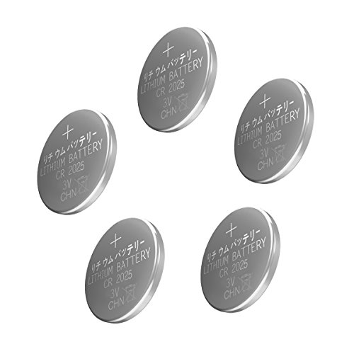 Esonstyle 30pcs CR2025 Battery 3 Volt Lithium Battery CR 2025 Coin Button Cell (30 pcs)]()