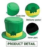St. Patrick's Day Hat Shamrock Hat Green Top Hat