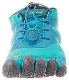 Vibram Women's V-Alpha Sneaker, Teal/Blue, 6.5 UK