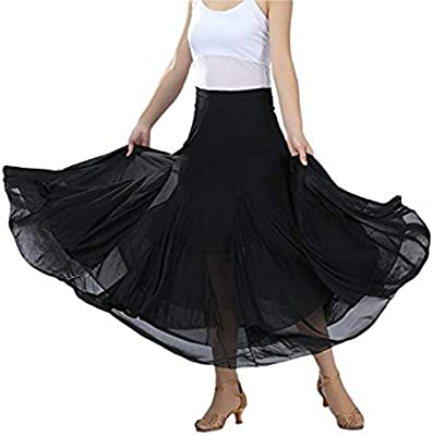 NFACE Elegant Ballroom Dancing Waltz Dance Party Falda Larga de ...