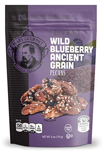 Wild Blueberry Ancient Grain Pecans - Gluten Free - 6 oz