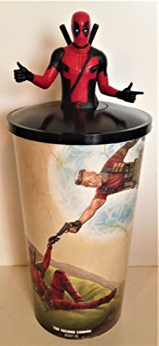 Marvel Comics: Deadpool 2 Movie Theater Exclusive Cup Topper with 44 oz Cup