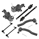 8 Piece Kit Tie Rod End Ball Joint Sway Bar Link LH RH Set for Camry Solara