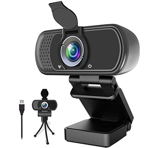 1080P-WebcamLive-Streaming-Web-Camera-with-Stereo-Microphone-Desktop-or-Laptop-USB-Webcam-with-110-Degree-View-Angle-HD-Webcam-for-Video-Calling-Recording-Conferencing-Streaming-Gaming