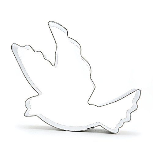 30x Kitchenware Pastry Cake Decorations Baking Tool Jelly Ausstechform Biscuit Cookie Cutter CC248 Flying Dove Pigeon by Cookie Cutters