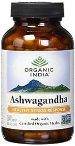 Organic India Ashwagandha Capsules, 180 Count