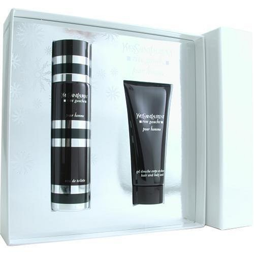 Rive Gauche By Yves Saint Laurent For Men. Set-edt Spray 4.2 oz & Hair And Body Wash 3.3 oz