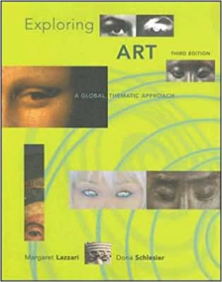 Amazon m lazzarisd schlesies exploring art 3rdthird m lazzarisd schlesies exploring art 3rdthird edition exploring art a global thematic approach paperback2007 3rd edition fandeluxe Image collections