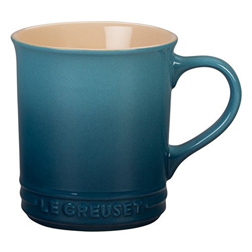 Le Creuset Stoneware 12-Ounce Mug, Marine