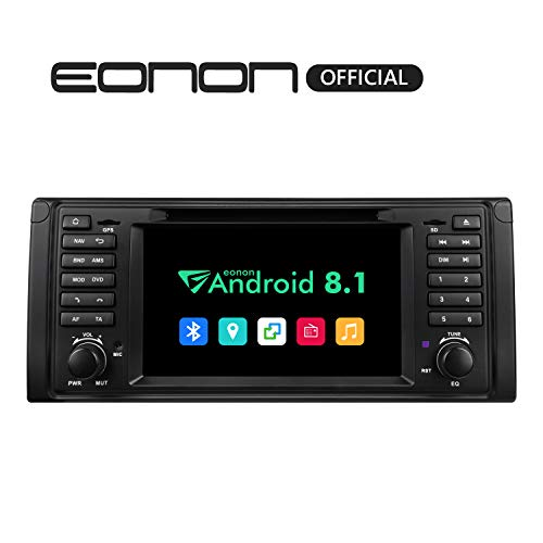 Car Radios, Android 8.1 Car Head Unit, Car Stereo Radio,7 Inch HD Touchscreen Car Stereo Radio, 32GB ROM Applicable to 5 Series 1995-2002(E39) Support Fastboot, Bluetooth, WiFi Connection-GA9301B