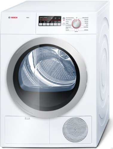 Bosch WTB86201UC500 4.0 Cu. Ft. Chalk-white Stackable Electric Dryer - Energy Star