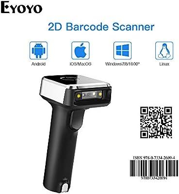 2D Handheld USB Wired Retail Barcode Scanner QR PDF417 DataMatrix Reader