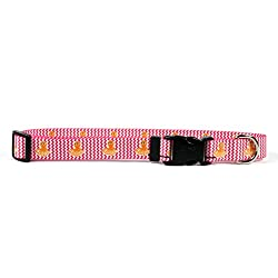 """Yellow Dog Design Playful Octopus Dog Collar with Tag-A-Long ID Tag System-Small-3/4"""" and fits Neck 10 to 14"""""""