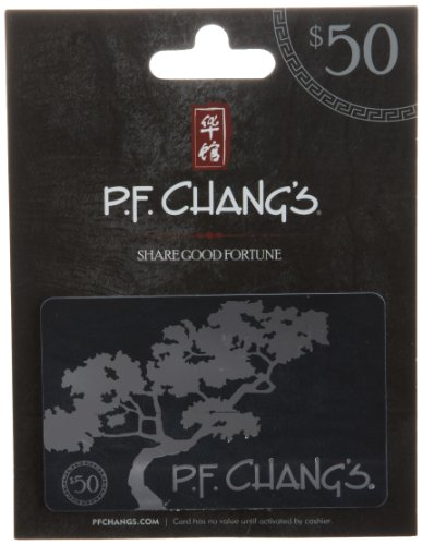 P F  Changs Gift Card 50
