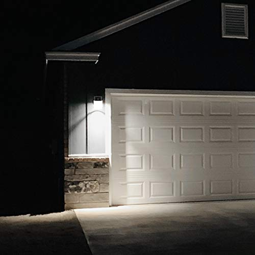 LED Wall Pack Light 26W 3000lm(Photocell Included),120-277V 5000K Daylight cETLus-Listed Dusk to Dawn 150-250W MH/Hps Replacement, Outdoor/Entrance Security Light (5-Year Warranty)(5000K) 26W 1PK by ZJOJO (Image #5)
