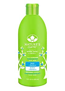 Nature's Gate Biotin Strengthening Conditioner for Weak, Fragile and Thinning Hair, 18-Ounce Bottles (Pack of 3)