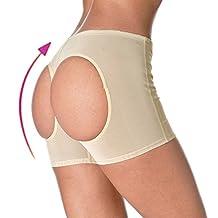 OMG Women's Butt Lifter Panties Shapewear Magic Boy Shorts Enhancer Shaper Panty