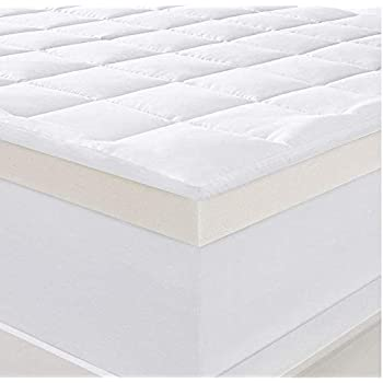 Amazon.com: Serta Ultimate 4-inch Memory Foam Mattress ...