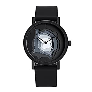 Terra Time Watch, Black by Projects Watches
