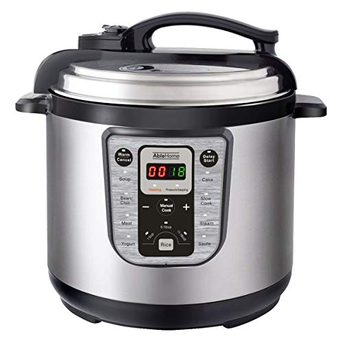 All-in-One, Lid Lock Safety Electric Pressure Cooker Multi-f