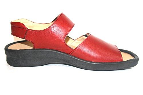 Highlander Nicobar HL-920330 Sandalias de Mujer rojo sangre