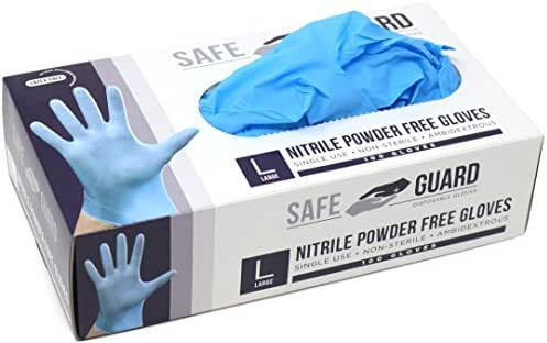 Disposable Gloves: Safeguard Nitrile Gloves