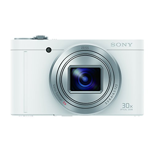 Sony DSC-WX500/W Cybershot 18.2MP Point & Shoot Digital Camera (White)