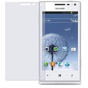 dipos Protector de pantalla para Huawei Ascend W1 (2 unidades) - mate pelicula protectora de pantalla
