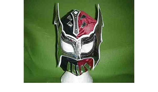Amazon.com: ASHLEYS Sin Cara Red And Black Mask For Children ...
