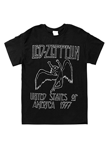 Price comparison product image Hot Topic Led Zeppelin 1977 T-Shirt