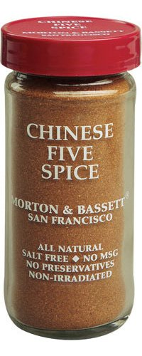 Morton & Bassett Chinese 5 Spice, 1.9-Ounce Jars (Pack of 3)