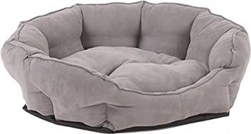 Perro sofá cama para perros, L XL XXL, suave, gris, varios.