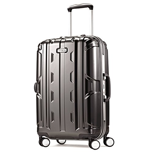 Samsonite Cruisair DLX Hardside Spinner 21, Anthracite, One Size Samsonite Aluminum Locks