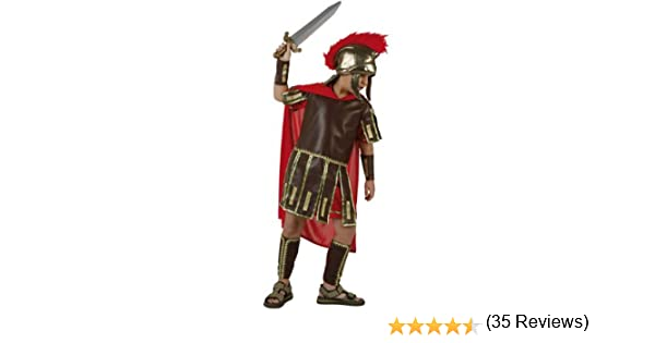 Atosa-96597 Disfraz Romano, color rojo, 7 a 9 años (96597): Amazon ...
