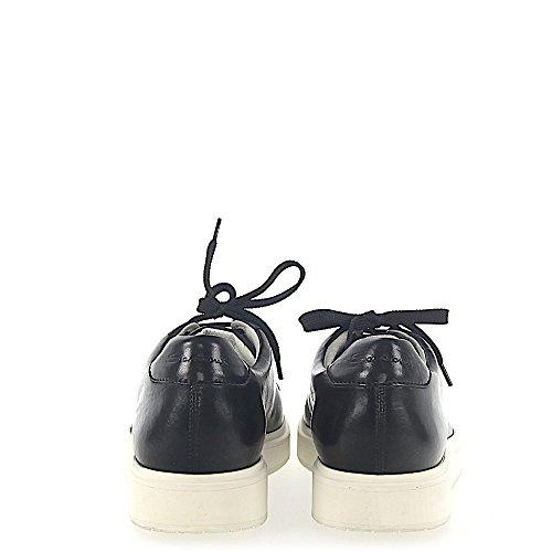Sneaker 20672 In Pelle Nera