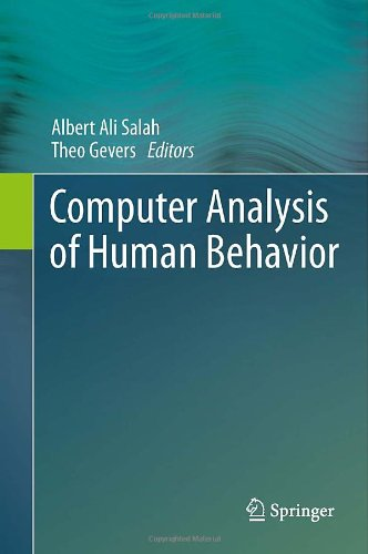 Computer Analysis of Human Behavior by , Publisher : Springer