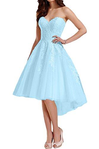 TOSKANA BRAUT - Vestido - trapecio - para mujer azul claro
