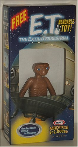 E.T. the Extra-Terrestrial Bendable Toy Figure (from Kraft Macaroni & Cheese)